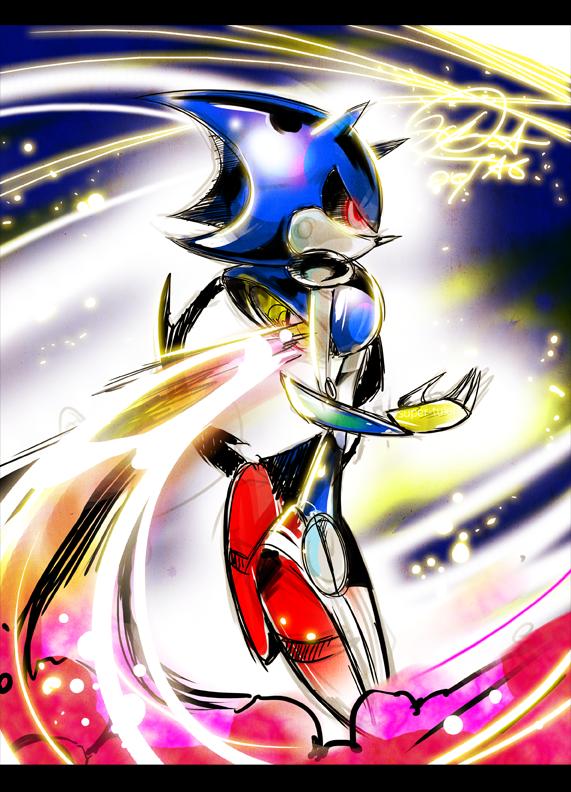 Hyper Metal Sonic by super-tuler on DeviantArt