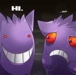 Creepy gengar is creepy