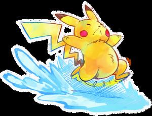 Surfing Pikachu?