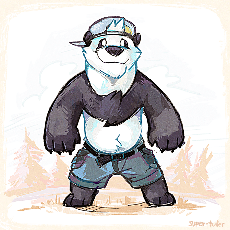 Herp derp bear by super-tuler