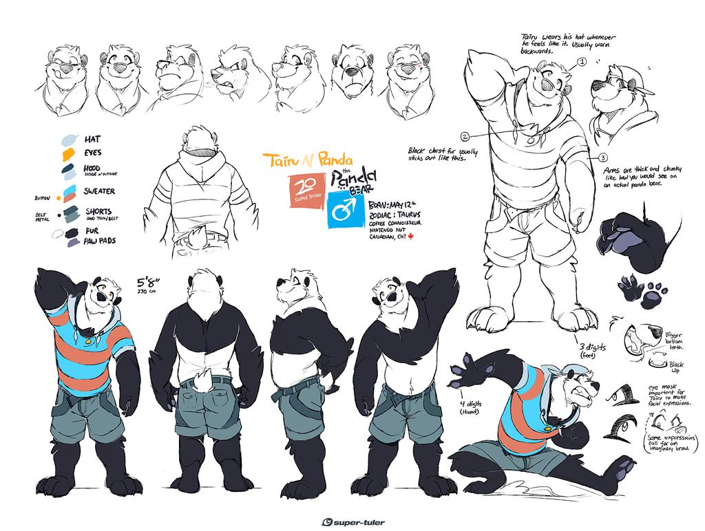 Various degrees of Panda 2013 by super-tuler