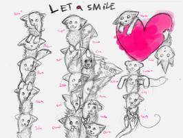VALENTINE SKETCH BIG GIFT by Sour-Smoothie