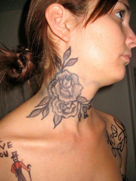 Kat von d neck tattoo by renietowne on deviantart for How to get tattooed by kat von d