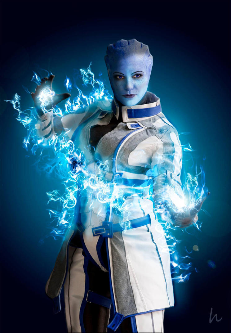 Biotic Asari - dr Liara by ChrixDesign