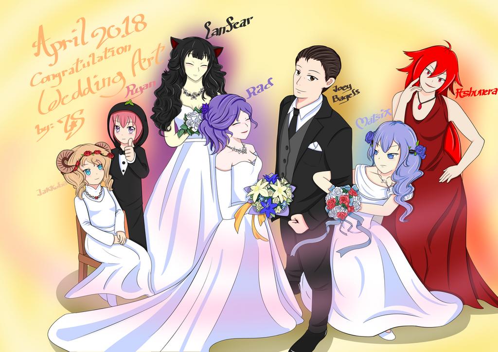 Nagzz21 Wedding Fanart by 7StarShifter
