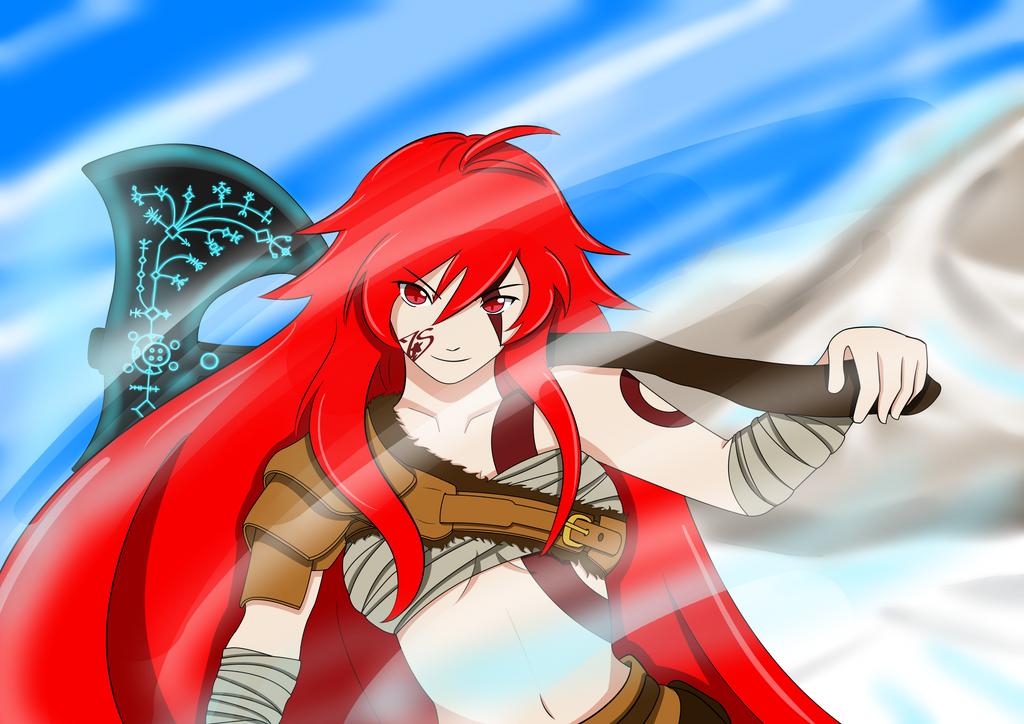 Ashunera of War by 7StarShifter