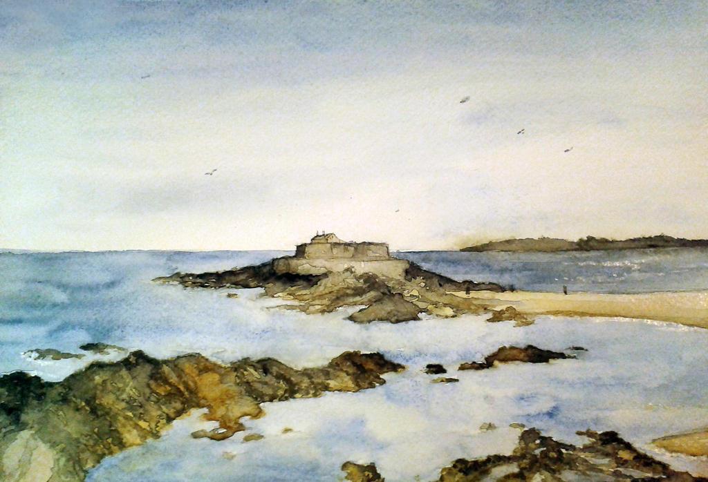 Brittany coast by wiatr7