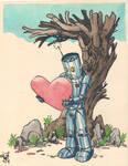 Robot Card 02 by Megadas