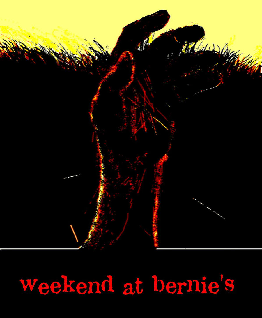 Weekend at Bernie's remake concept poster