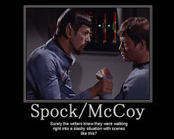 SpockMcCoy by TheLilacPilgrim