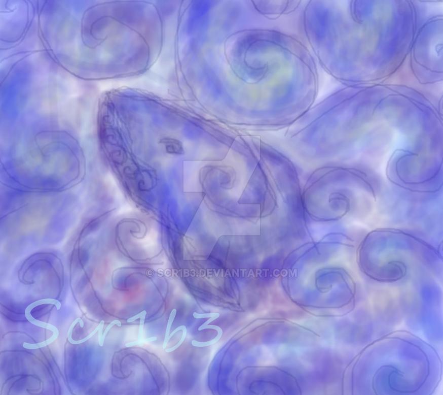Whale by Scr1b3