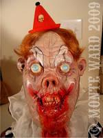 Spanky Clowning Around detail by dreggs88