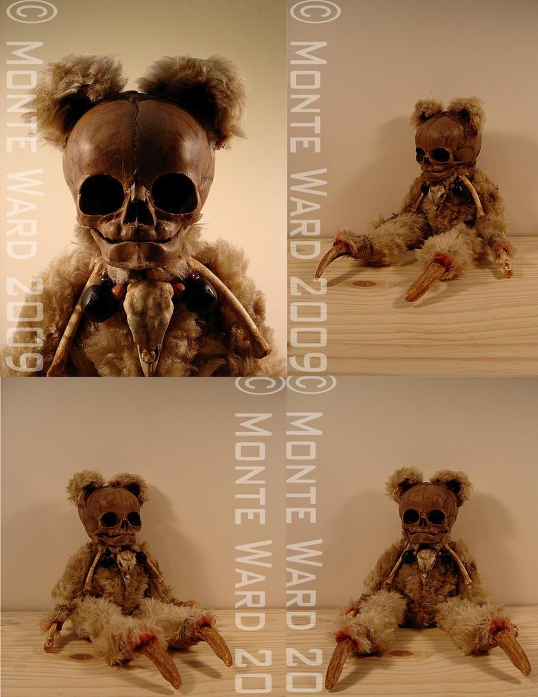 Skeleton Baby Bears 2 by dreggs88