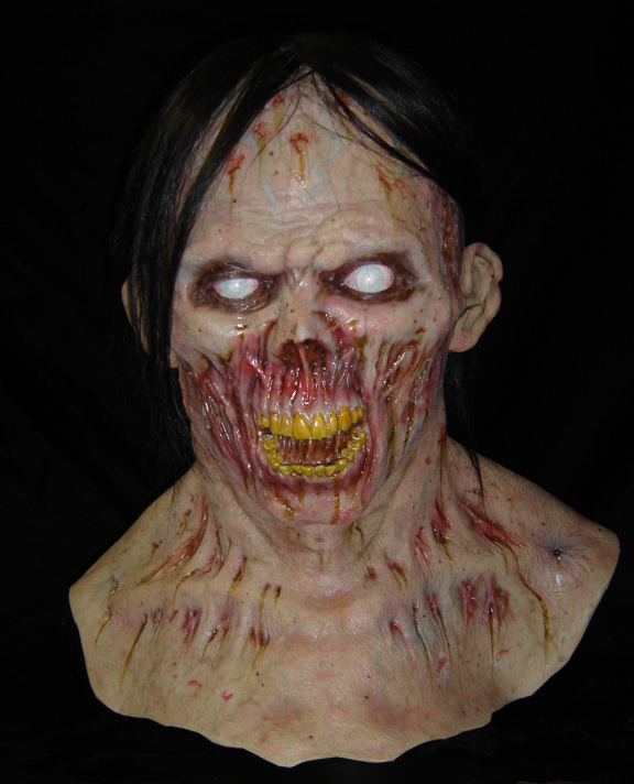 Risen Zombie mask final photos by dreggs88