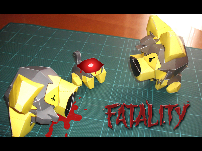 STRAY PAPER FATALITY by EsseDue