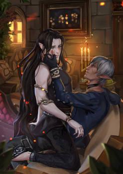 [YCH] Kyraniel and Alaric