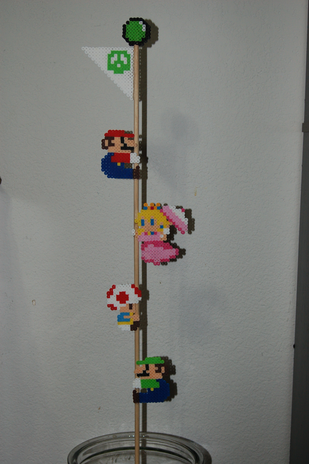 Mario Maker Costumes Goal Flag by evilpika