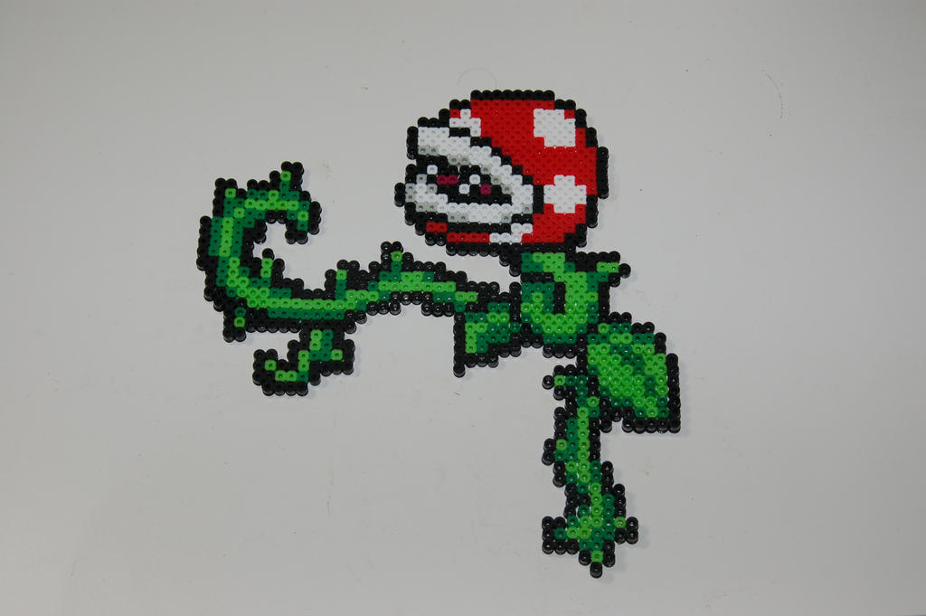 Piranha Plant Border by evilpika