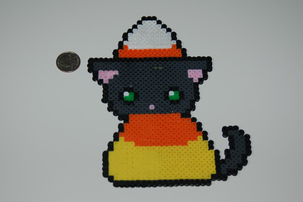 Candy Corn Cat by evilpika
