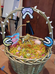 Easter Piranha Plant Basket