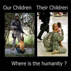 where is the humanity ?