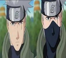 la cara de kakashi