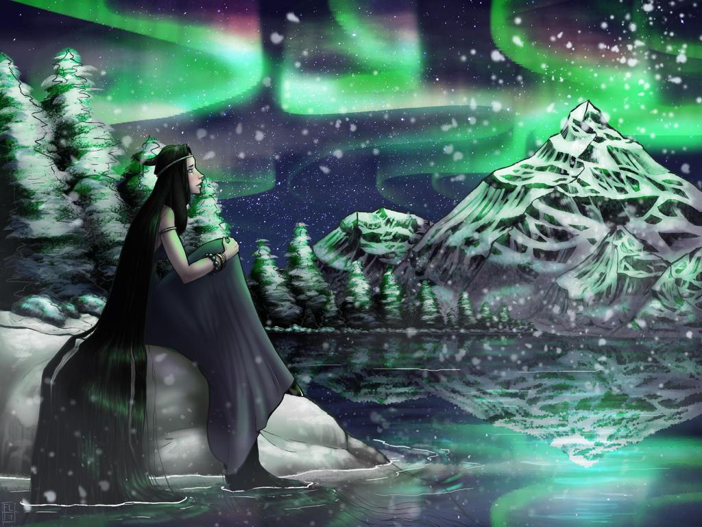 The Winter Hymn: Puca by Firelock13