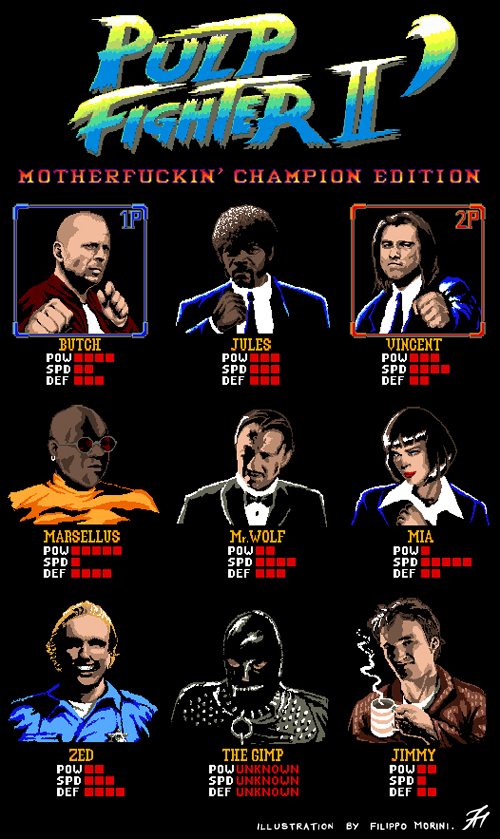 Pulp Fighter II: Motherfuckin' Champion Edition by FilippoMorini
