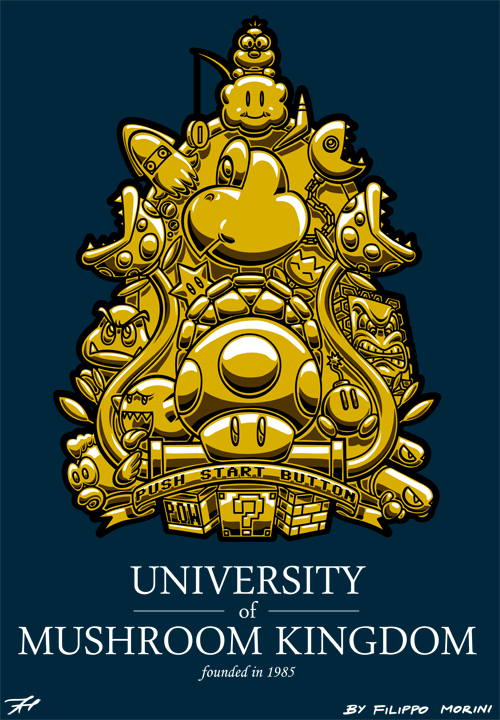 University of Mushroom Kingdom by FilippoMorini