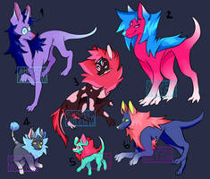 Lupaxes Adopt Sheet OPEN by WhispersWillow