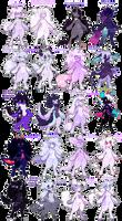049 - Purple Set