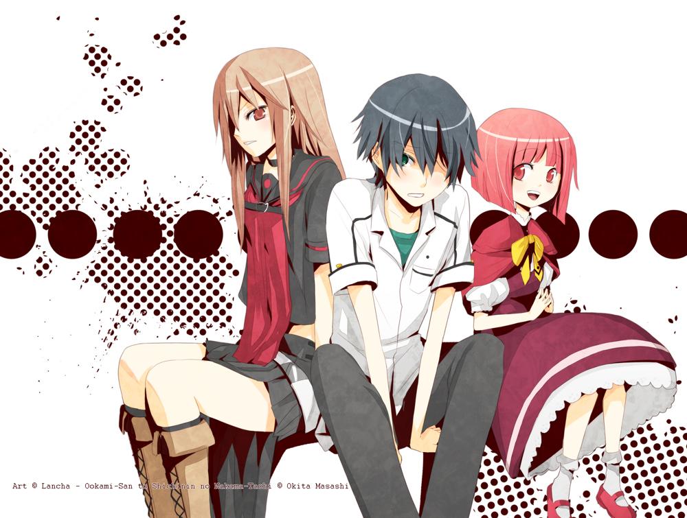 Ookami-San and her Seven Companions Ookami_San___Ryoushi___Ringo_by_Lancha