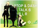 STOP TALK DASH R L B A -Remote