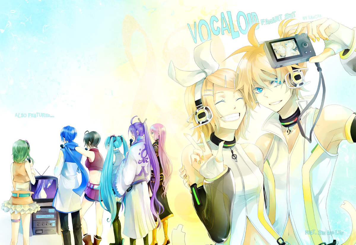 VOCALOID print set Folder by Lancha