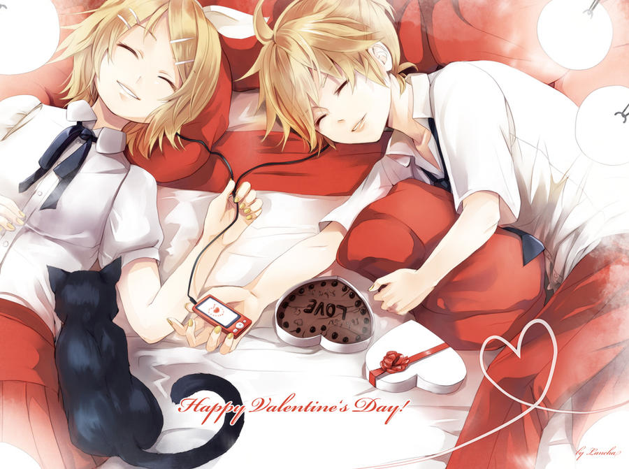 Happy Valentines Cute Day Anime Pictures Www Picturesboss Com