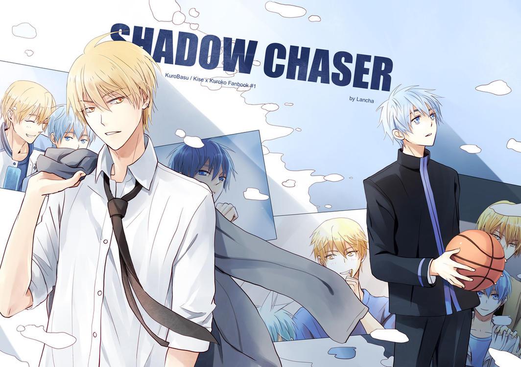 Kise x Kuroko Doujinshi -Shadow Chaser- Cover by Lancha