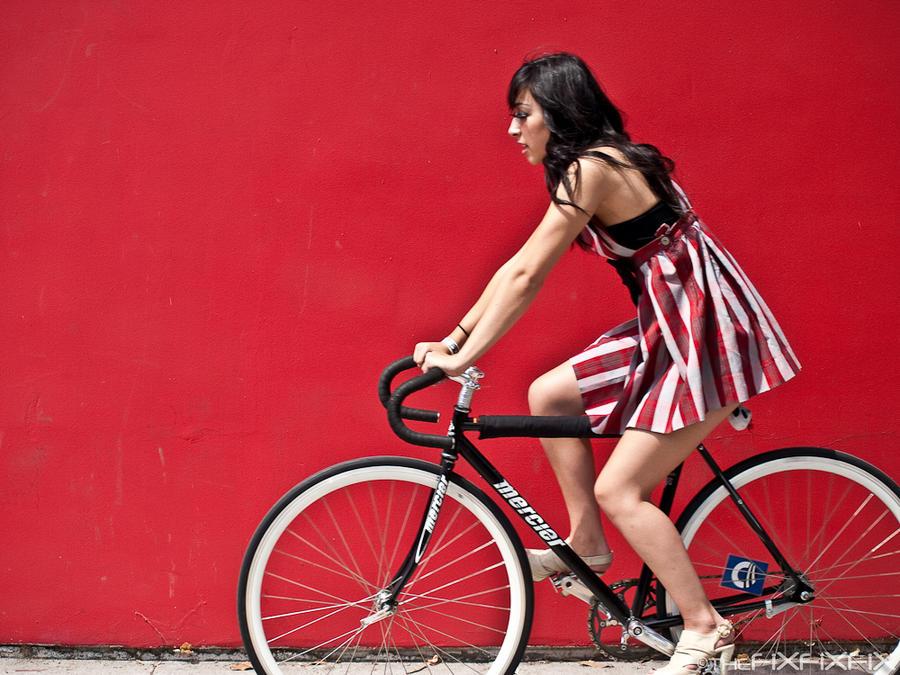 bicycle by prancarita