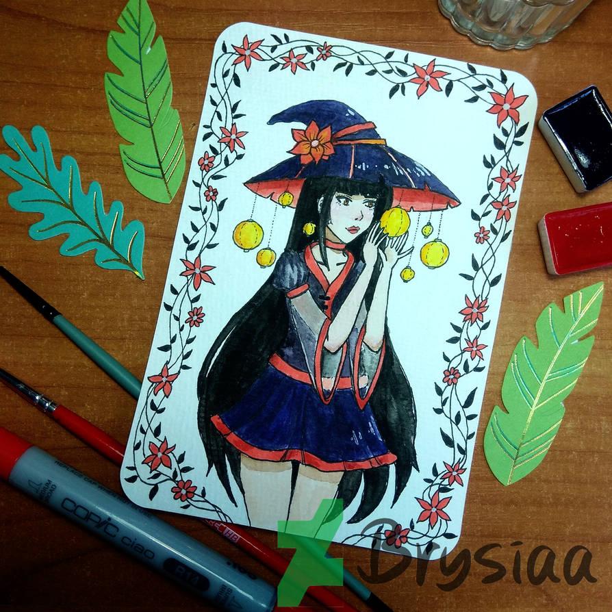 Postcard No. 2 - Witch