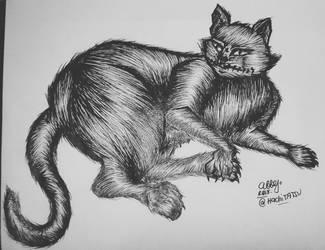 Inktober 2015/Drawlloween 2015 DAY28: Black Cat