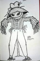 Inktober 2015/Drawlloween 2015 DAY29: Scarecrow