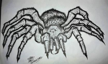 Inktober 2015/Drawlloween 2015 DAY30: Spider
