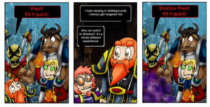 WoW Comic by Meltharos