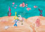 Underwater Friends Of Memory by handylight