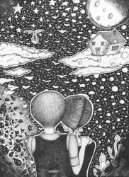 Daydreamers by luciediamonds