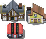 Set of buildings [THEY'RE PRIVATE]