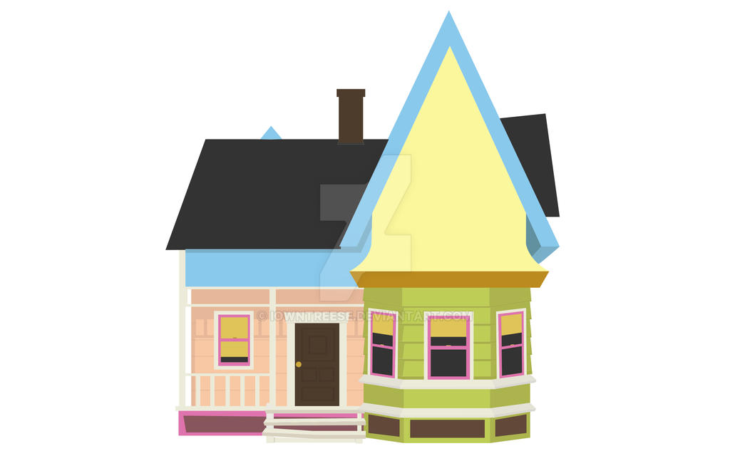 Up house Vector by iowntreese on DeviantArt Up House Pixar Drawing