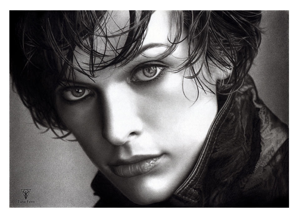MILLA JOVOVICH by Tunaferit