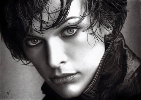 Milla Jovovich Portrait