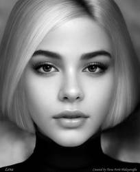 Portrait of Lena