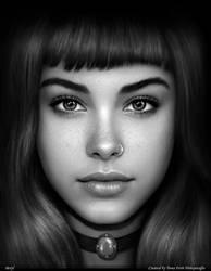 Art Portrait Beryl